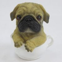 Mops in Tasse mini